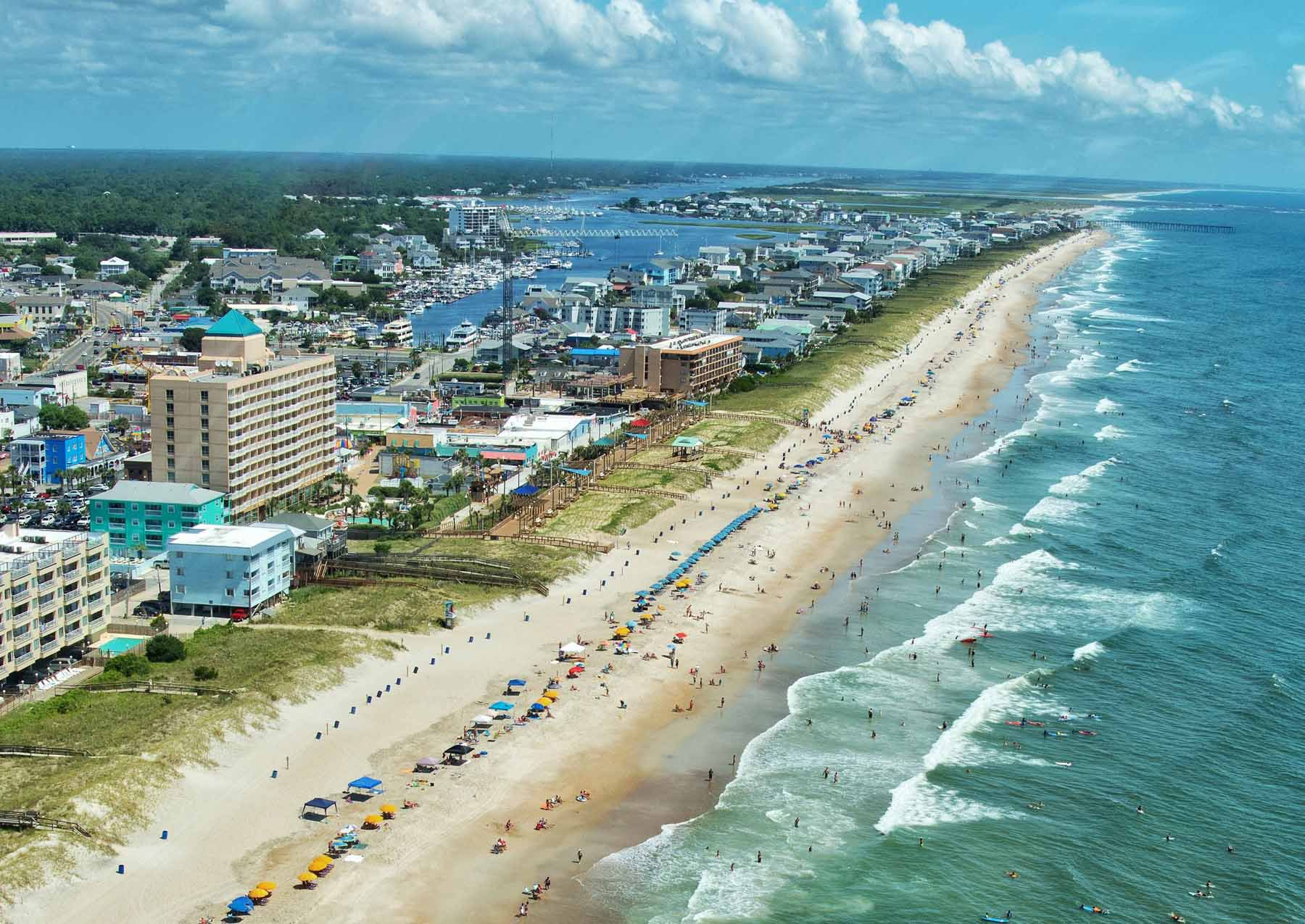 wrightsville beach and carolina beach rentals intracoastal realty
